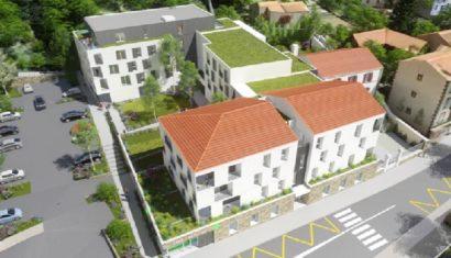 Deux chantiers en cours à Royat, pour un habitat diversifié