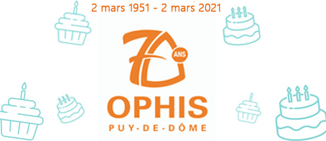 LOGO 70 ANS OPHIS