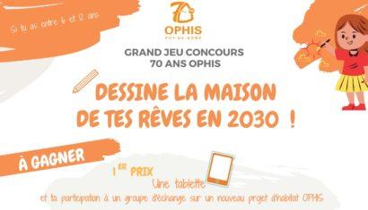 Concours de dessin  « Dessine la maison de tes rêves en 2030 »