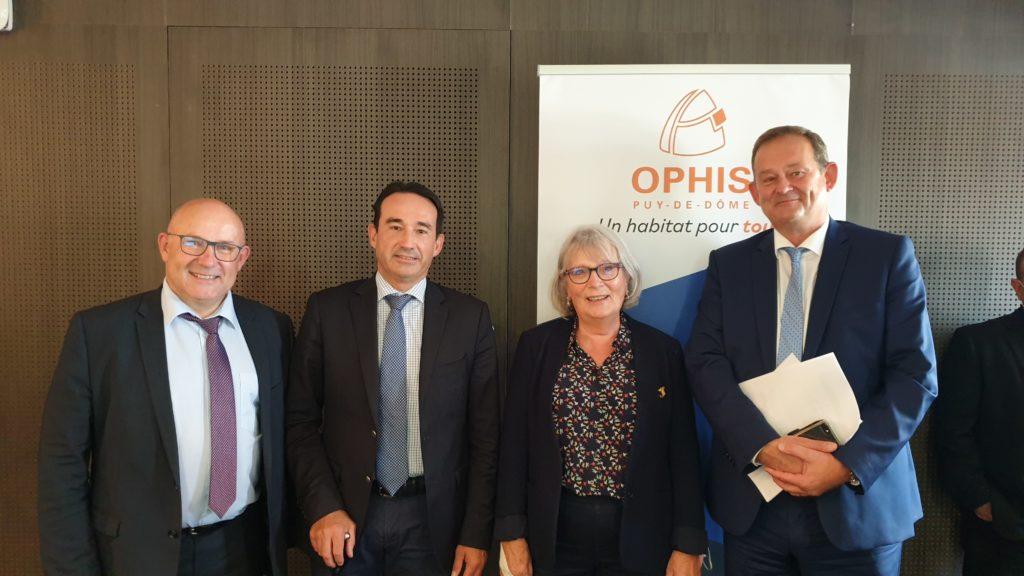 Présidete et vice Président d'OPHIS